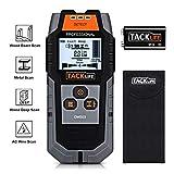 Detector de Pared, Tacklife DMS03 Detector de Metal, Madera y AC Cable, Escáner de Pared Clásico y Multifuncional, Retroiluminación LCD,...