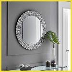 espejos ovalados