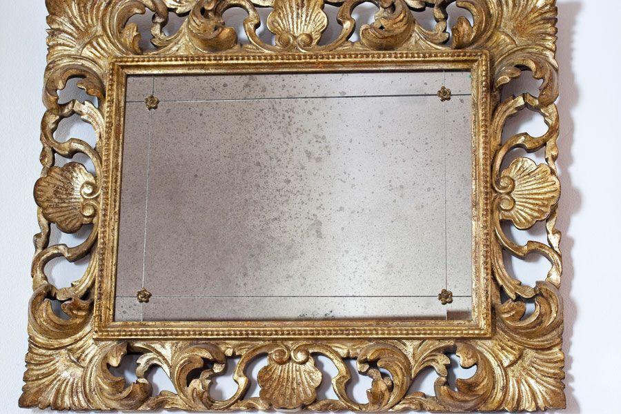 Cómo Hacer que un Espejo se vea Antiguo