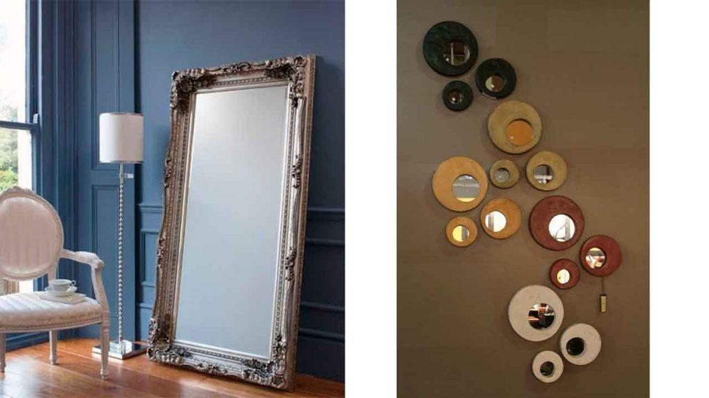 Espejos Grandes y Pequeños