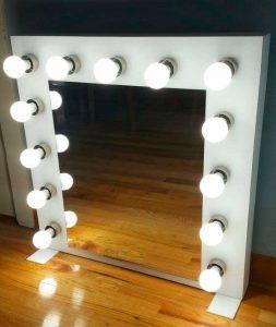 espejo tocador con luz