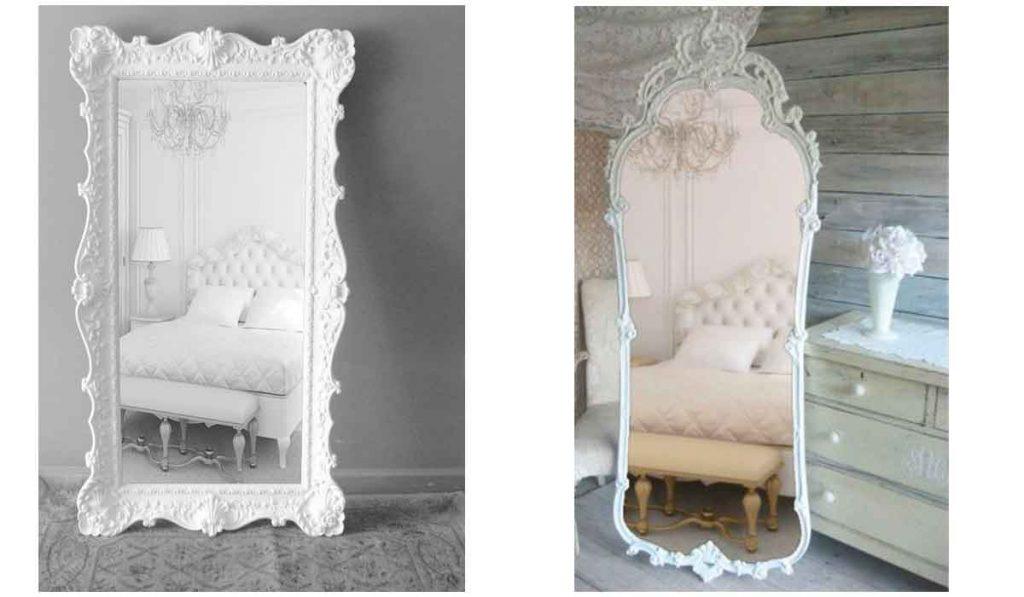 espejos blancos