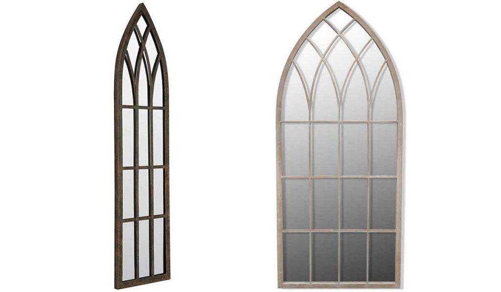 espejo estilo ventana gotica