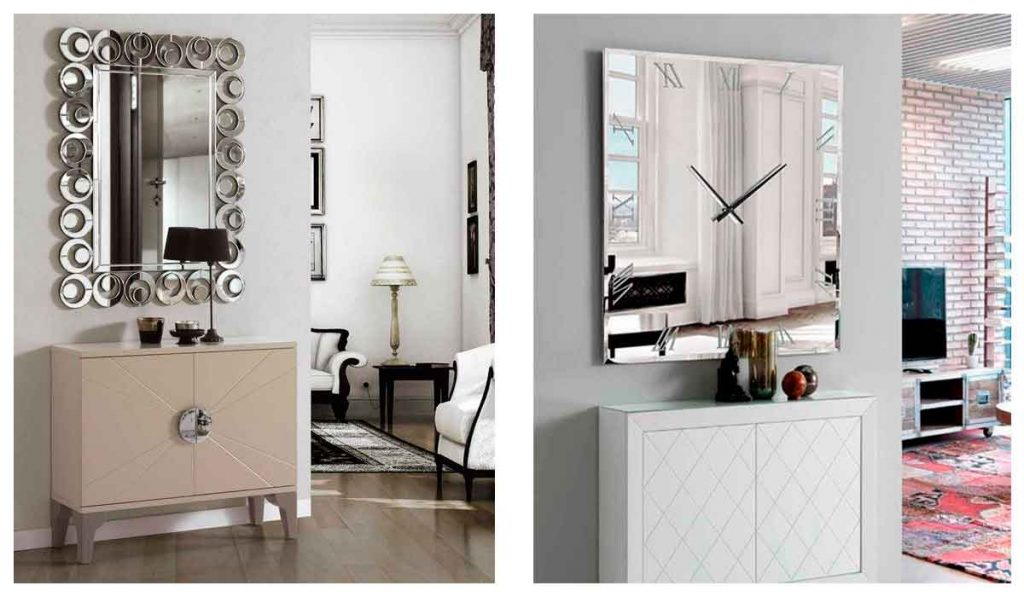 espejos modernos para salon comedor
