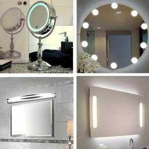 espejos con luces