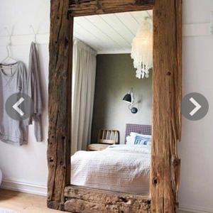espejos marco madera
